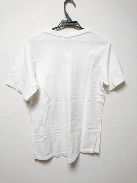 ナンバーナイン 半袖Tシャツ サイズ2 M レディース 白×レッド×マルチ 花柄