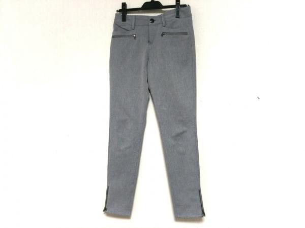 LANVIN en Bleu(ランバンオンブルー) パンツ サイズ36 S レディース美品  グレー