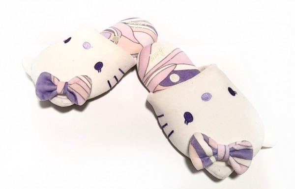 Rady(レディ) 靴 レディース美品  白×パープル HelloKitty 化学繊維