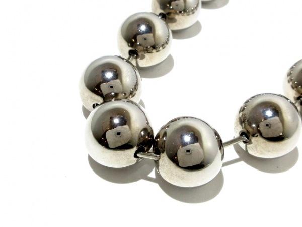 BALENCIAGA(バレンシアガ) ネックレス美品  金属素材 シルバー ボールチェーン