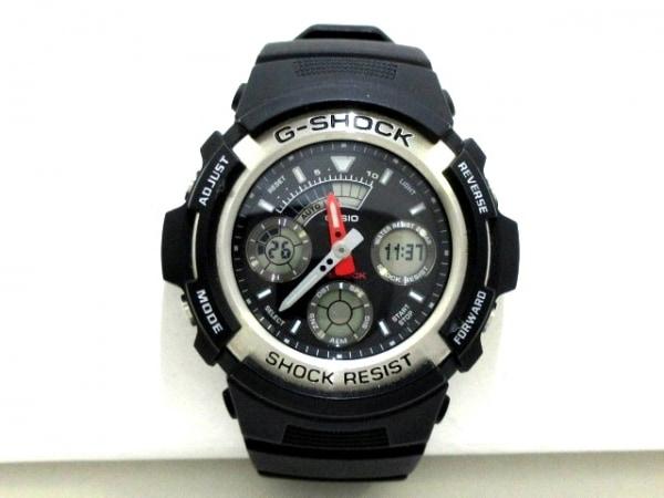 CASIO(カシオ) 腕時計美品  G-SHOCK AW-590 メンズ 黒