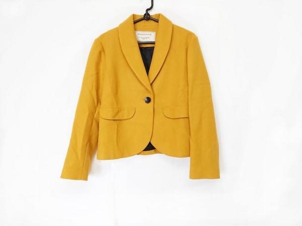 MAISON KITSUNE(メゾンキツネ) ジャケット サイズ36 S レディース美品  イエロー