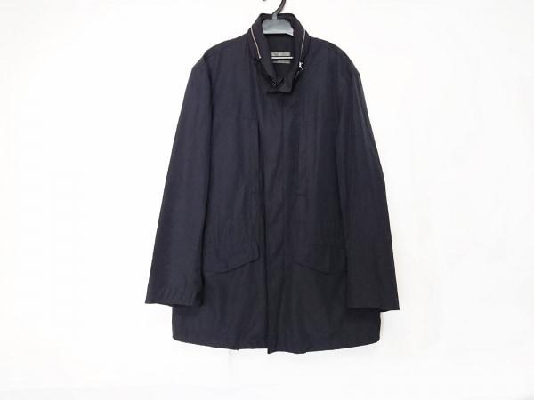 allegri(アレグリ) コート サイズ46 XL メンズ ネイビー 春・秋物