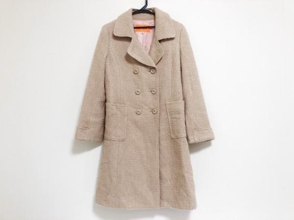 SunaUna(スーナウーナ) コート サイズ36 S レディース美品  ベージュピンク 冬物