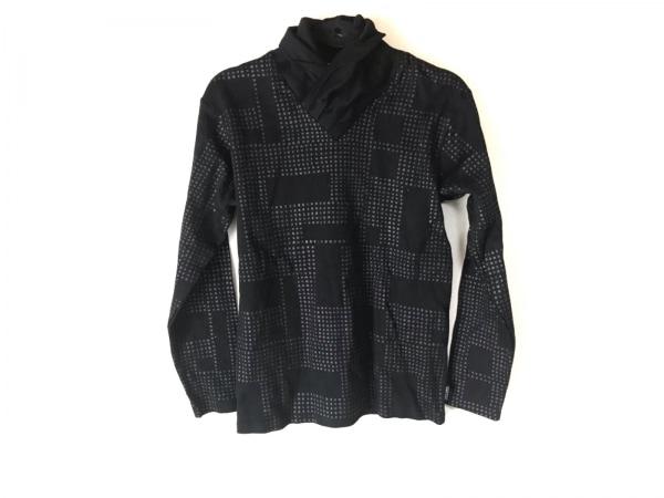 SOU・SOU(ソウソウ) 長袖カットソー サイズS レディース 黒×グレー