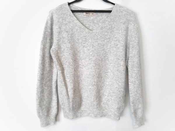 アプワイザーリッシェ 長袖セーター サイズ2 ユニセックス美品  グレー