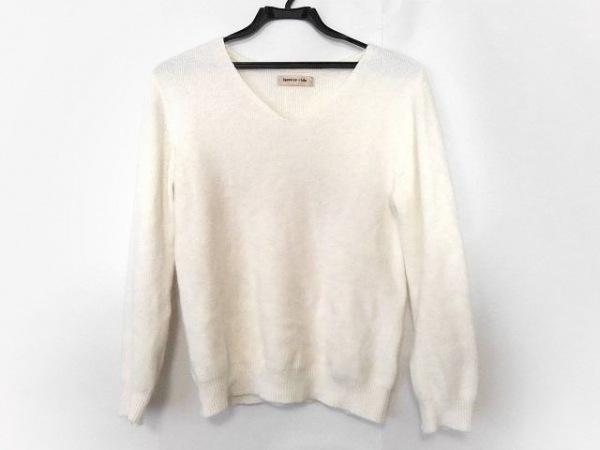 Apuweiser-riche(アプワイザーリッシェ) 長袖セーター サイズ2 M レディース美品  白