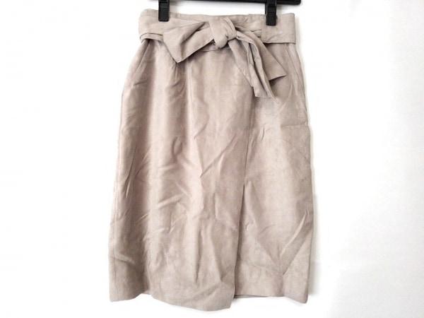 アプワイザーリッシェ スカート サイズ1 S レディース美品  ベージュ