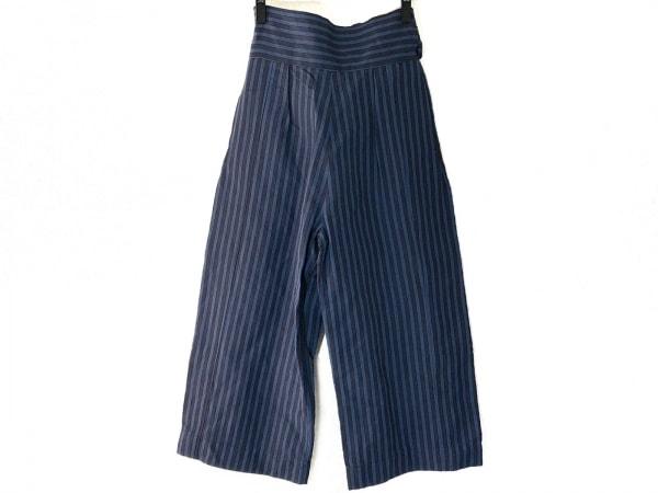 emmi(エミ) パンツ サイズ0 XS レディース ブルー×グレー ストライプ