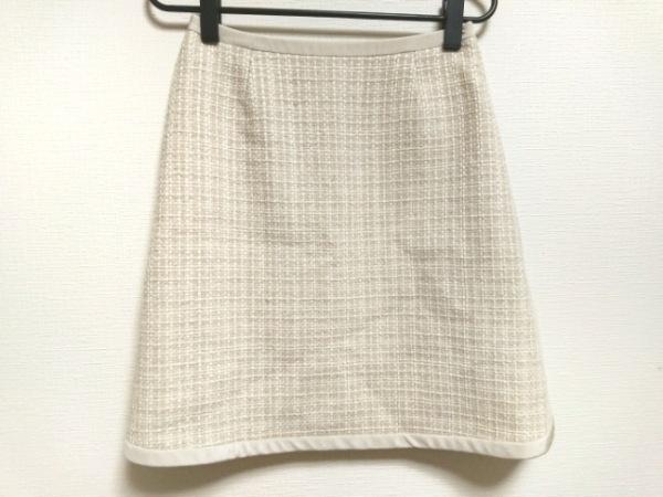 FOXEY(フォクシー) スカート サイズ38 M レディース美品  アイボリー