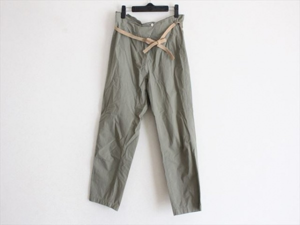 BEARDSLEY(ビアズリー) パンツ サイズF レディース ダークグリーン