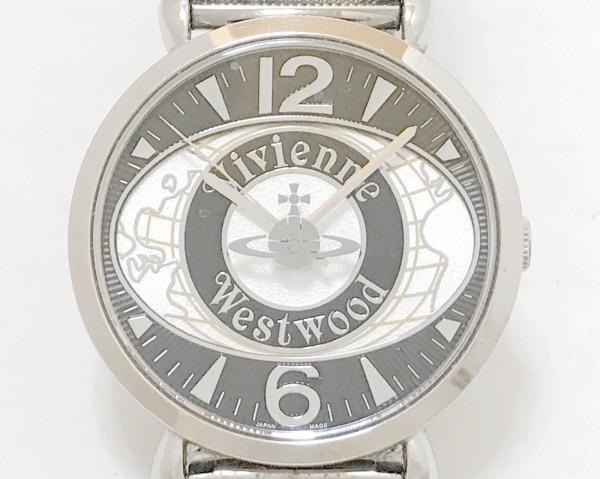 VivienneWestwood(ヴィヴィアン) 腕時計 VW-7065 レディース 黒×白
