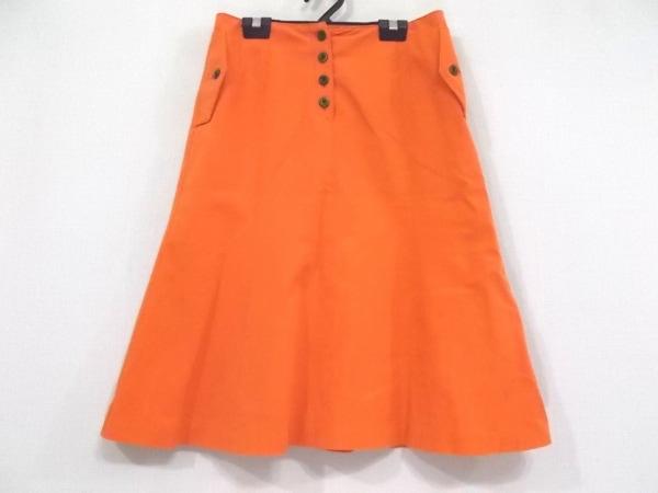 OLD ENGLAND(オールドイングランド) スカート サイズ36 S レディース美品  オレンジ