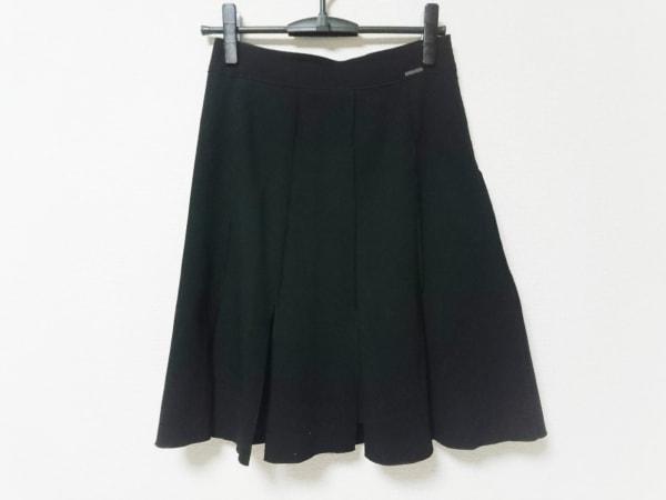 FOXEY(フォクシー) スカート サイズ38 M レディース 黒 BOUTIQUE