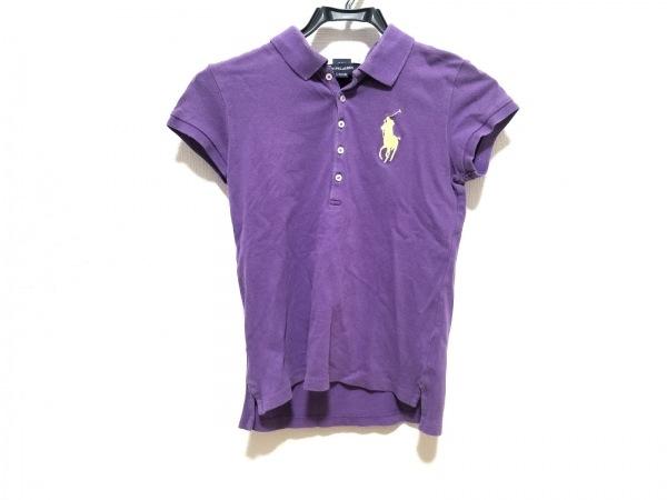 ラルフローレン 半袖ポロシャツ サイズL(12/14) レディース美品  ビッグポニー