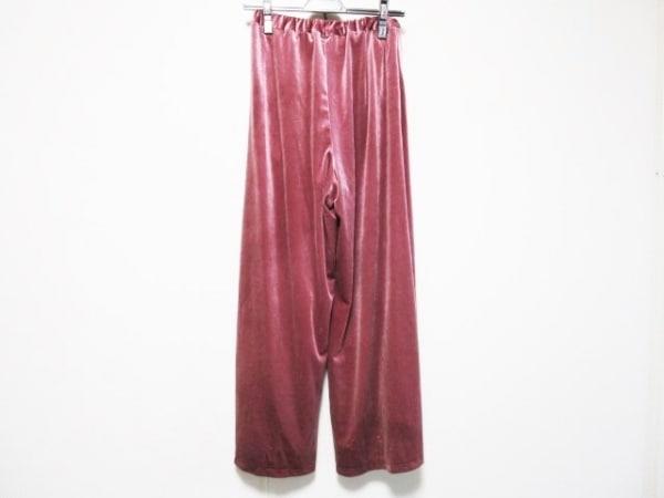 UNGRID(アングリッド) パンツ サイズF レディース ピンク ベロア
