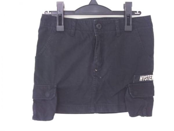 HYSTERIC GLAMOUR(ヒステリックグラマー) ミニスカート レディース 黒