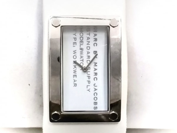 MARC BY MARC JACOBS(マークジェイコブス) 腕時計 MBM2025 レディース 白