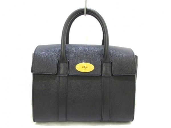 マルベリー ハンドバッグ美品  スモールベイスウォーター HH3930/205A100 黒 レザー