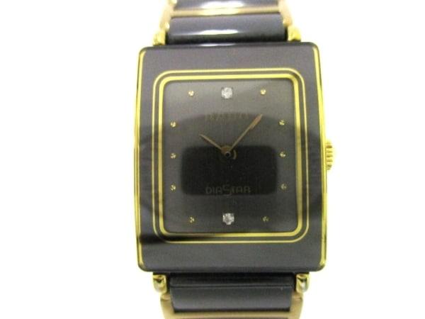 RADO(ラドー) 腕時計 ダイアスター 153.0283.3N レディース 黒