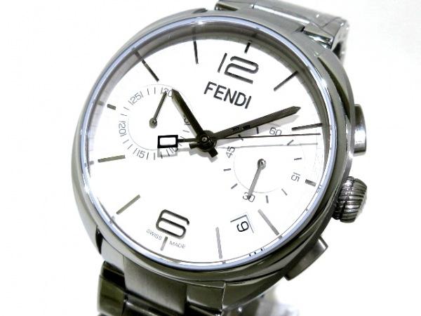 FENDI(フェンディ) 腕時計美品  21200G メンズ 白