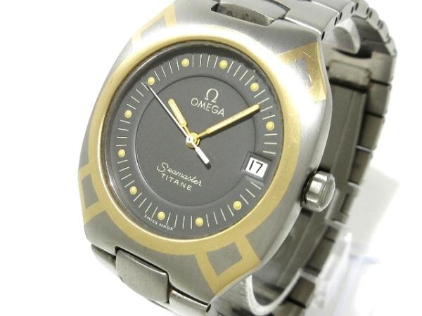 OMEGA(オメガ) 腕時計 シーマスターポラリス - メンズ 黒