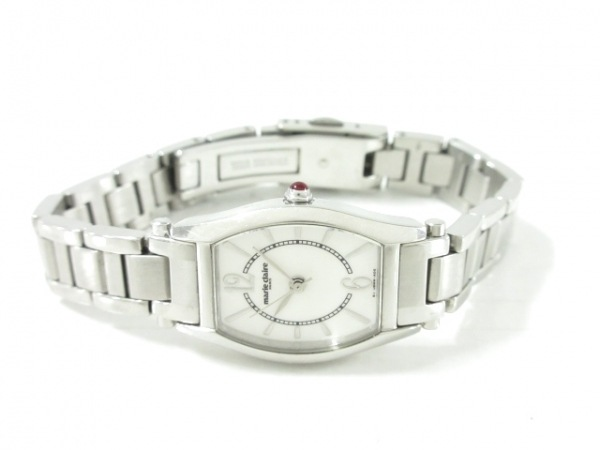 marie claire(マリクレール) 腕時計美品  - レディース 白
