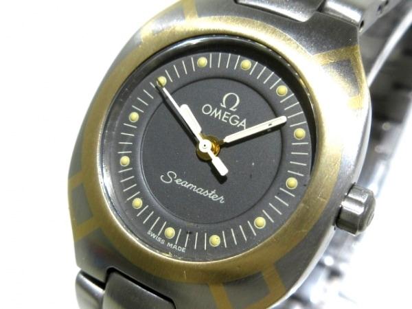 OMEGA(オメガ) 腕時計 シーマスターポラリス - レディース 黒