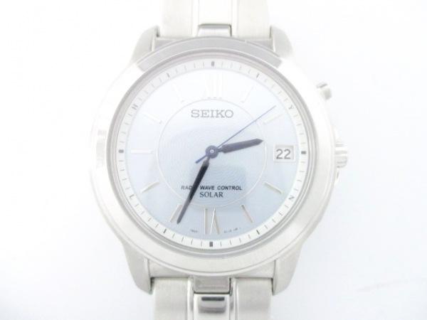 SEIKO(セイコー) 腕時計美品  7B22-0BK0 メンズ ライトグレー