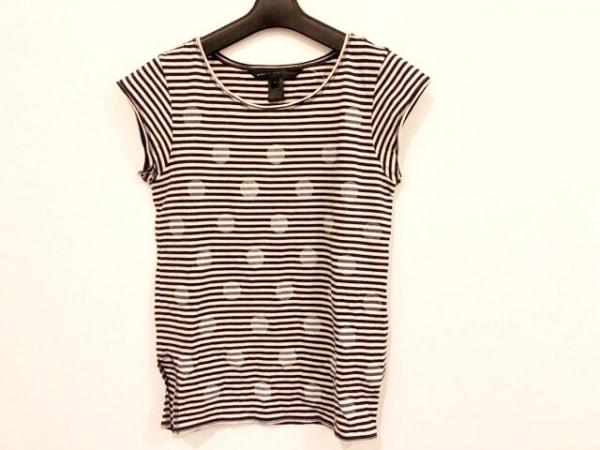 マークバイマークジェイコブス 半袖Tシャツ サイズXS レディース ベージュ×黒