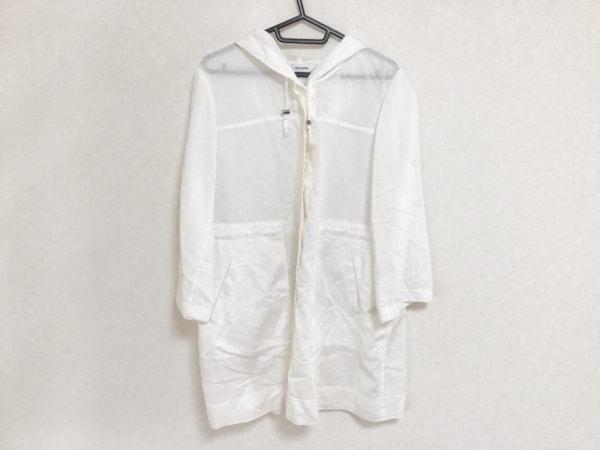ensuite(エンスウィート) コート サイズ5 XS レディース 白 薄手/春・秋物
