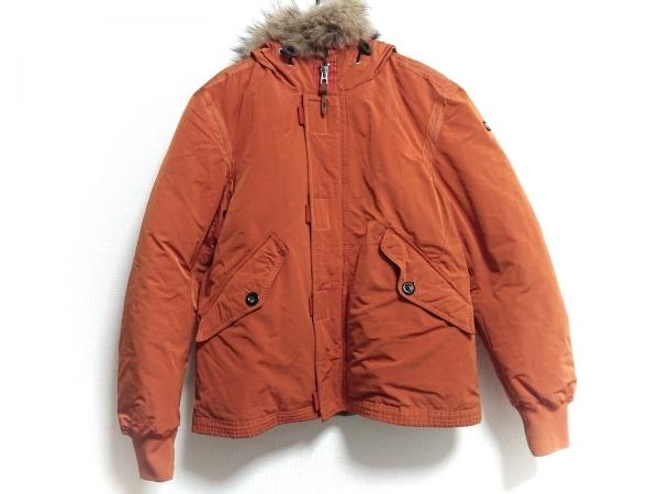 NAPAPIJRI(ナパピリ) ダウンジャケット サイズL レディース オレンジ ファー/冬物
