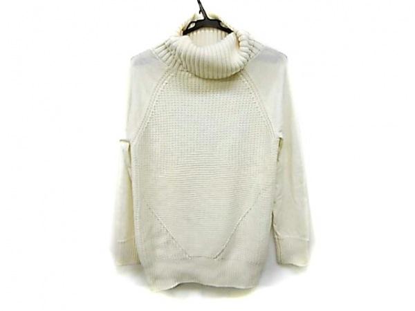 ダーマコレクション 長袖セーター サイズM レディース 白 オフタートル
