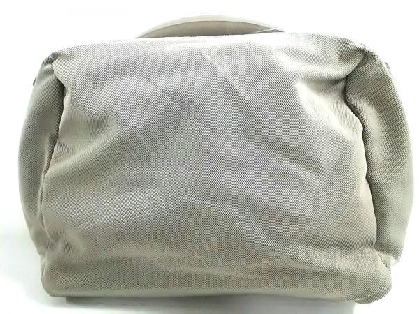 マンダリナダック ビジネスバッグ美品  ライトグレー×ダークブラウン