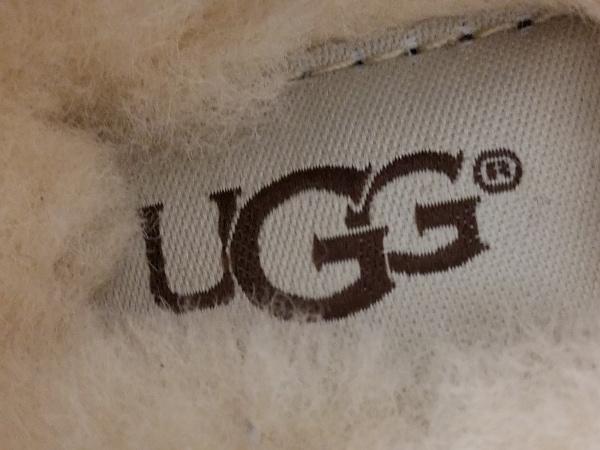 UGG(アグ) スリッポン 23 レディース新品同様  アンスレー 3312 ブラウン×アイボリー