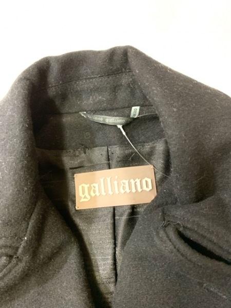 galliano(ガリアーノ) ジャケット サイズ38 L レディース 黒 ジップアップ