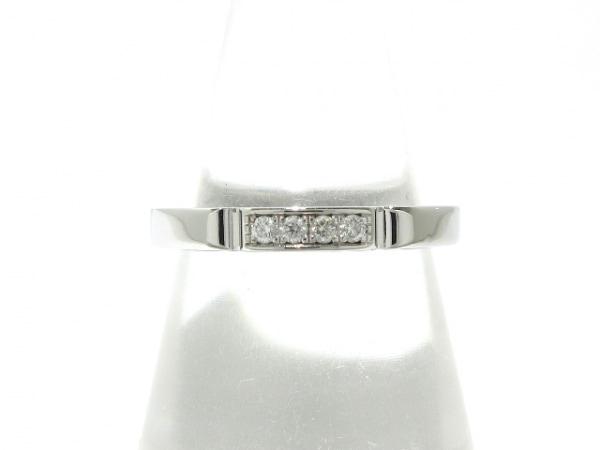 Cartier(カルティエ) リング 51新品同様  マイヨンパンテール K18WG×ダイヤモンド