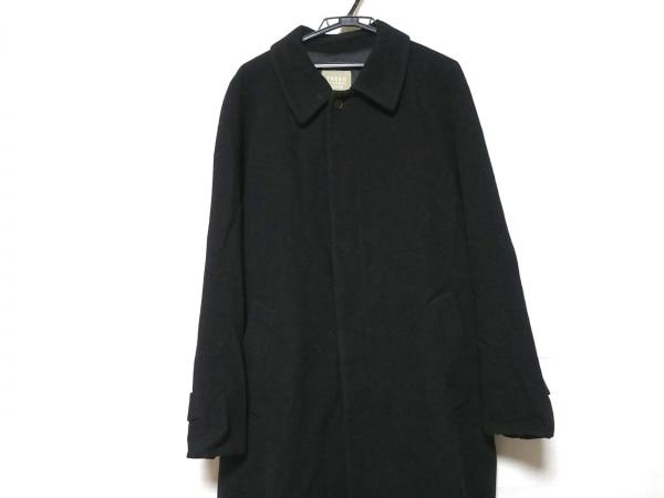 TAKEOKIKUCHI(タケオキクチ) コート サイズ3 L メンズ美品  黒 ロング丈/冬物