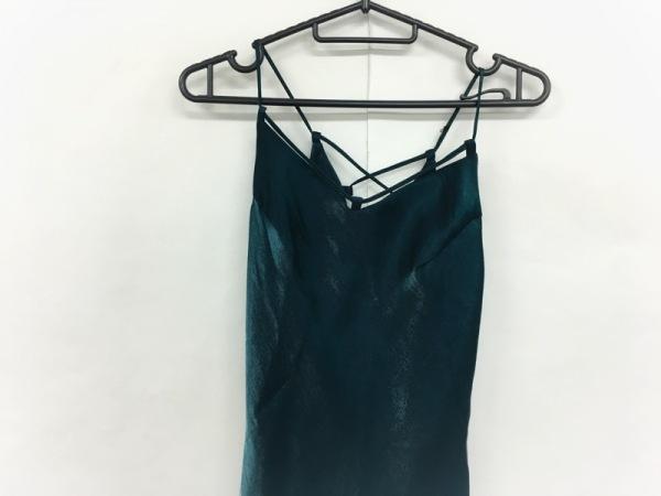 La Defence(ラデファンス) ドレス サイズ9 M レディース美品  グリーン