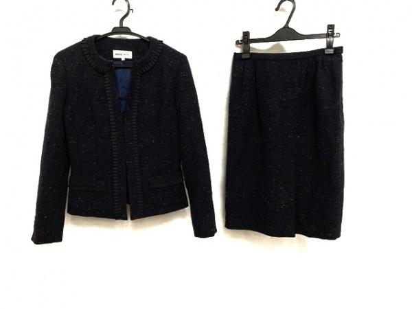 HANAE MORI(ハナエモリ) スカートスーツ サイズ38 M レディース美品  肩パッド