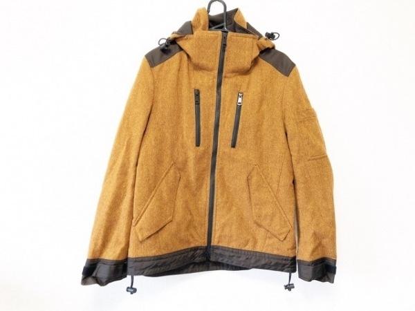 バーバリーブラックレーベル コート サイズL メンズ美品  冬物/ショート丈