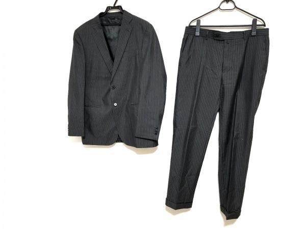 ニジュウサンク オム シングルスーツ サイズ上50L 下50 メンズ ストライプ