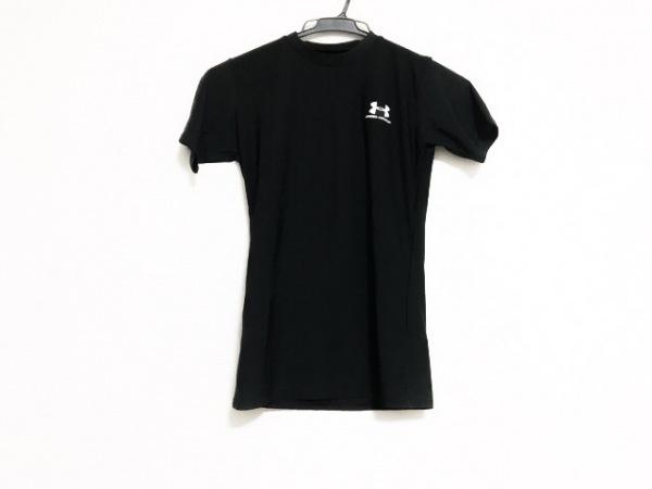 UNDER ARMOUR(アンダーアーマー) 半袖Tシャツ サイズYLG レディース美品  黒
