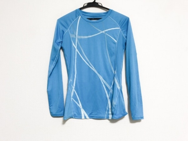 Marmot(マーモット) 長袖Tシャツ サイズS/P S レディース美品  ライトブルー