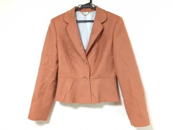 アンナモリナーリ ジャケット サイズI40 M レディース美品  オレンジブラウン