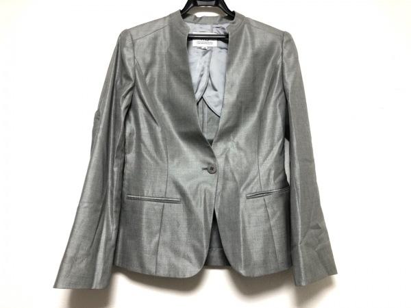 wb(ダブリュービー) ジャケット サイズ38 M レディース美品  グレー
