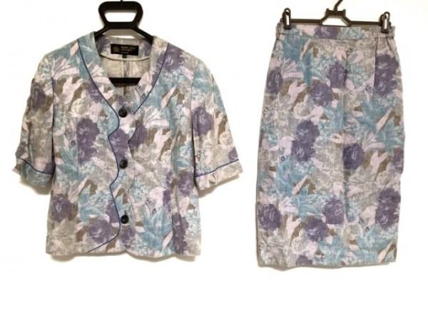 HARDY AMIES(ハーディエイミス) スカートセットアップ サイズ11 M レディース 花柄
