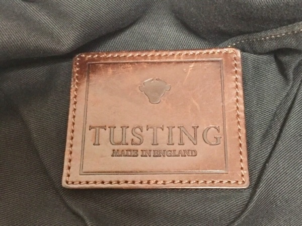 TUSTING(タスティング) トートバッグ ブラウン×ダークブラウン レザー