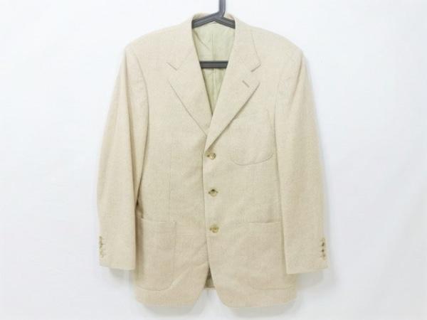 CANALI(カナーリ) ジャケット サイズ46 XL メンズ ベージュ ネーム刺繍