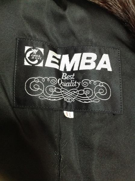 EMBA(エンバ) コート レディース ダークブラウン 冬物